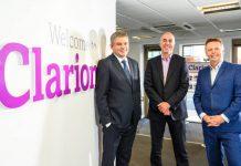 Revenues reach £17m milestone at Clarion