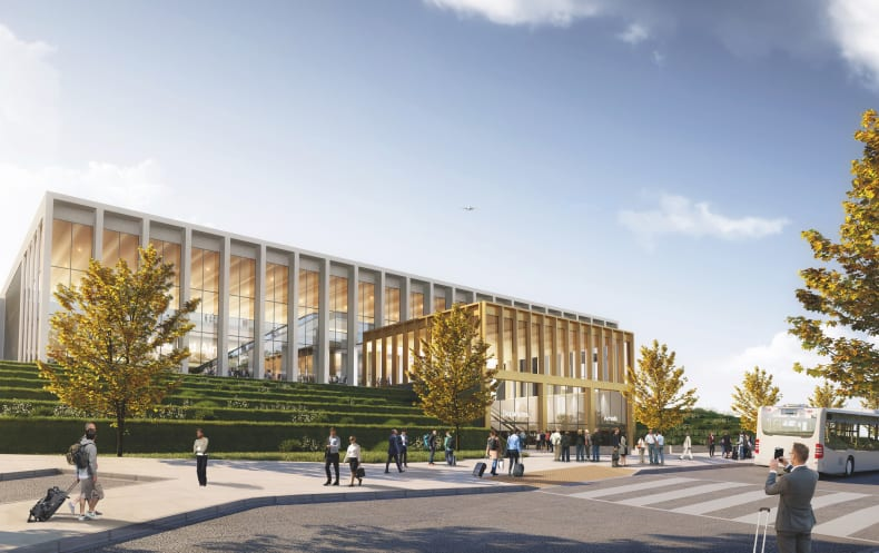 Leeds Bradford Airport unveil plans for new terminal building