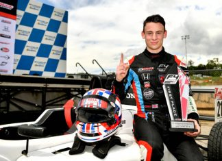 Local motor racing prodigy seeks corporate sponsorship